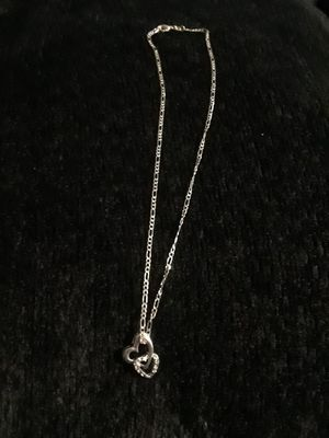 Silver 9.25 chain and charm for Sale in Long Beach, CA