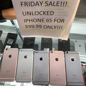 Iphone 6s Like New Factory Unlocked Sale! for Sale in Irving, TX