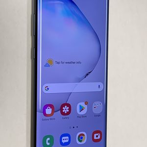 Excellent Unlocked Samsung Galaxy NOTE 10 PLUS 512GB any company. Works with att, Tmobile, metro pcs, cricket, verizon, and overseas. Works with an for Sale in San Francisco, CA
