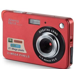 "21 Mega Pixels 2.7"" LCD Rechargeable HD Digital Camera Video Camera Digital Students Cameras,Indoor Outdoor for Adult/Seniors/Kid (Red for Sale in Piscataway, NJ"