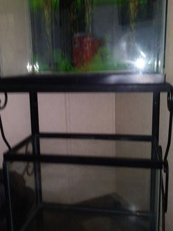 2 Fish Tanks Comes With Iron Stand for Sale in Greenwood,  IN