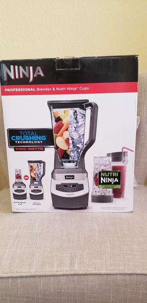 Brand New Ninja Professional Blender 1100 Watts for Sale in Pembroke Pines, FL