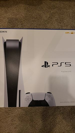PS5 Console full disc version - new, sealed for Sale in Niagara Falls, NY