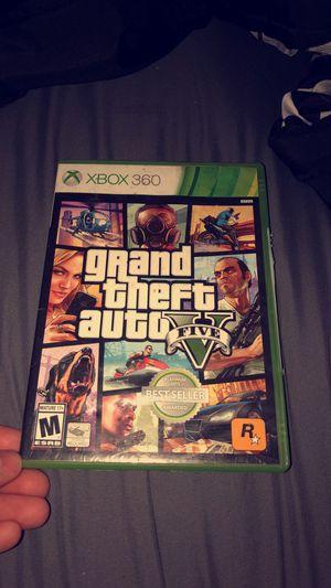 Xbox 360, Grad theft auto 5 for Sale in Nashville, TN