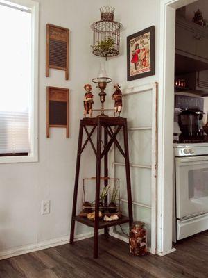 "Farmhouse X Design Wooden Plant Stand / Corner Table! 45"" for Sale in Joliet, IL"