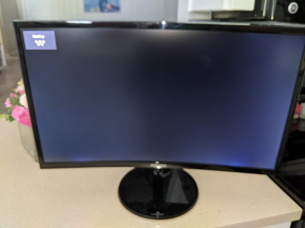 """Samsung 24"""" Curved LED Monitor"""