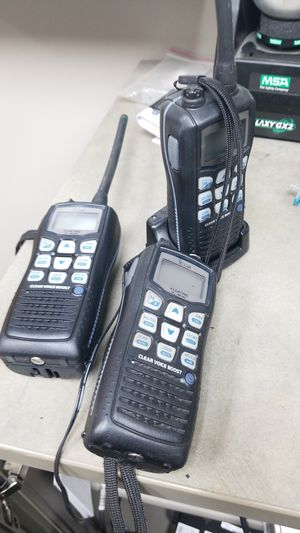Icom IC-M36 Marine Floating Submersible Handheld VHF 6W Radio Works No Plug for Sale in Chicago, IL