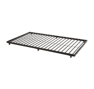 Walker Edison Twin Roll-Out Metal Trundle Bed Frame - Black, Twin, 8B-2022 for Sale in St. Louis, MO