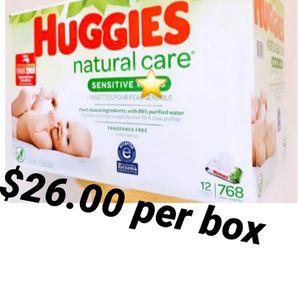 Huggies Wipes for Sale in Los Angeles, CA