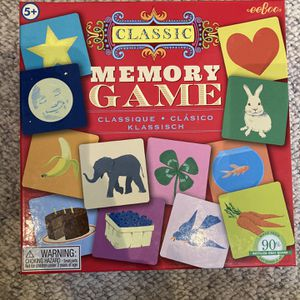 Eeboo Memory Game for Sale in Chaska, MN