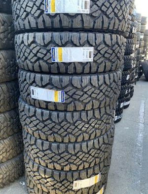 """18"""" GOODYEAR Wrangler DuraTrac Tires New Size LT 285/75R18 ..... $229 EA for Sale in La Habra Heights, CA"""