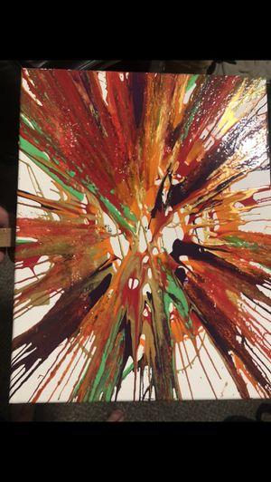 Rainburst star painting. 10x12 for Sale in Wichita, KS