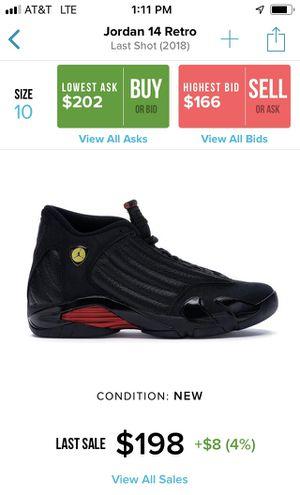 "Jordan 14 Retro "" Last Shot 2018"" for Sale in Los Angeles, CA"