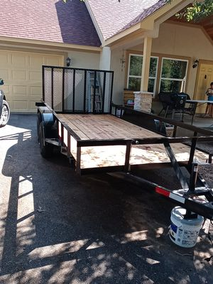 Utility Trailer brand new for Sale in Stagecoach, TX