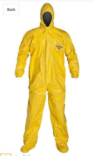 DuPont Tychem QC Chemical Protection Coveralls 2XL for Sale in Orange, CA