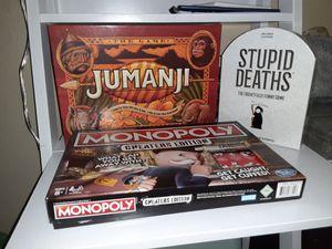Board games new for Sale in Bellevue, WA