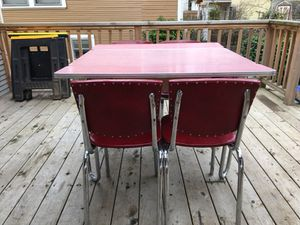 50's dinette table and chairs for Sale in Portland, OR