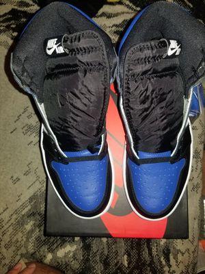 Jordan retro 1 royal toe size 9 ds for Sale in Stockton, CA