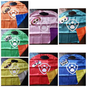 Paw Patrol costume 7 capes and mask set for Sale in Lakewood, CA
