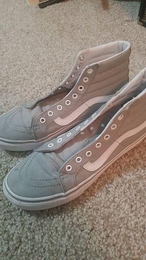 Gray Van's shoes for Sale in Austin, TX