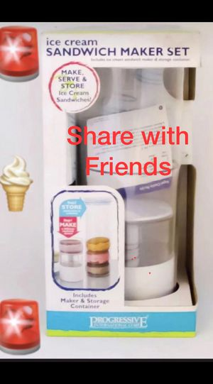 🚨 Ice Cream Sandwich Maker Set (New)Maker & Storage Container Included🚨 for Sale in Miramar, FL