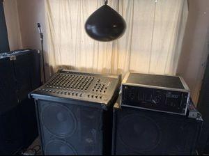 Dj music equipment for Sale in Stockton, CA