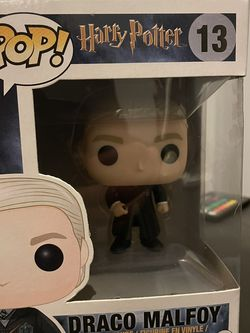 Funko POP Movies: Harry Potter Action Figure - Draco Malfoy for Sale in San Francisco,  CA