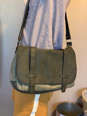 Men's faux leather messenger bag/satchel for Sale in Las Vegas, NV