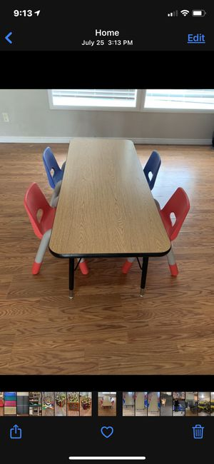 Kids table and chairs for Sale in Brighton, CO