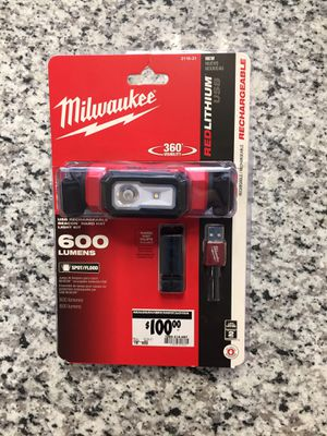 Milwaukee 2116-21 USB Rechargeable Beacon Hard Hat Light #16188-4 for Sale in Revere, MA