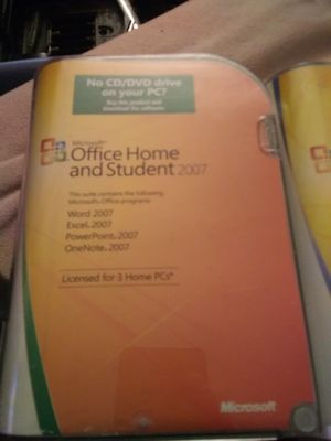 Microsoft office hone and student, 2007. Microsoft office professional 2007 for Sale in Thornton, CO