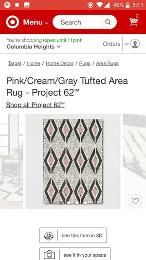 Area rug 7x10 for Sale in Washington, DC