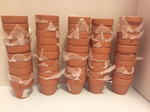 Craft 2 inch Terra Cotta Flower Pots for Sale in North Kingstown, RI