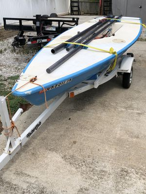 Laser Sailboat and trailer - ready to go for Sale in Columbia, MO