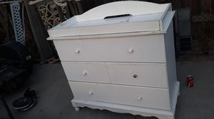 Changing table with dresser for Sale in San Bernardino, CA