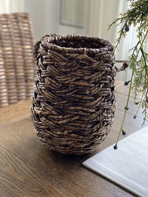 Threshold ; Wicker Hanging basket for Sale in Los Angeles, CA