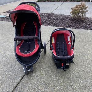 Graco Aire3 Click Connect Travel System for Sale in Bothell, WA