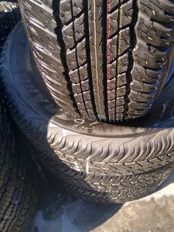 Set De llantas Usadas Dunlop Grandtrek P245/75/16 for Sale in Newhall,  CA