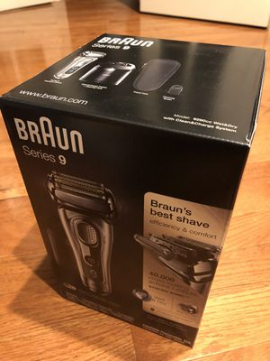 New Braun Series 9 9290cc Electric Shaver Razor for Sale in Rockville, MD