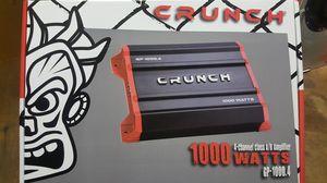 CRUNCH 1000 WATT AMPLIFIER for Sale in Pico Rivera, CA