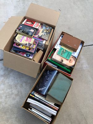Free BOOKS for Sale in Riverside, CA