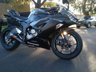 2019 Kawasaki Ninja ZX6R 636 Clean Title In Hand Tags Current for Sale in Westminster,  CA