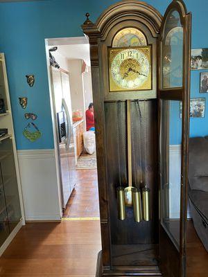 Ridgeway Grandfather Clock Pine Finish for Sale in Germantown, MD