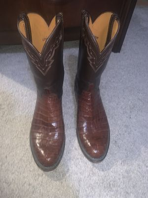 Lucchese boots size 10.5D for Sale in Houston, TX