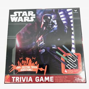 Star Wars Trivia Game w/ 4 Lightsaber Puzzles for Sale in Round Rock, TX