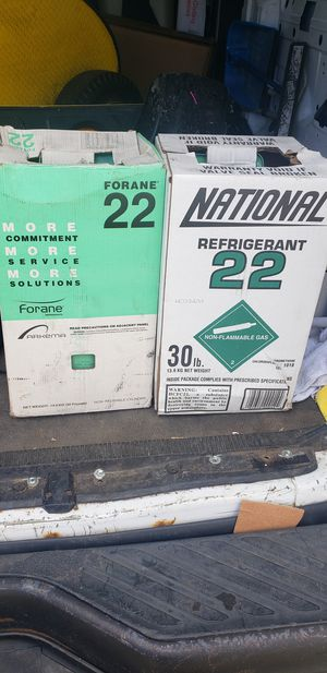 Freon Refrigerant 22 New! 30 LBS for Sale in Burbank, IL