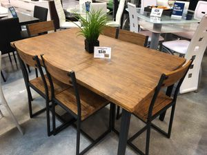 7 Piece Adler Dining Table Set for Sale in Miami Springs, FL