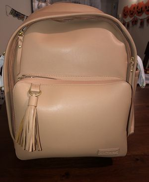 Skip hop Tan Leather Diaper Bag for Sale in Las Vegas, NV