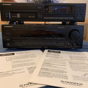 Pioneer Audio Stereo Receiver And Multi-Play (6) Compact Disc Player for Sale in Goodyear, AZ