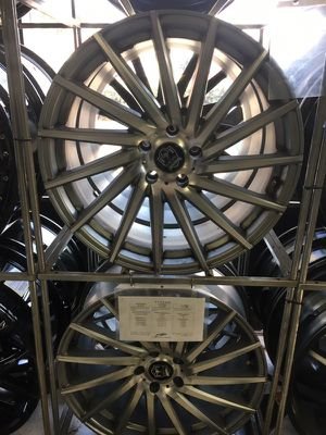 Rims and tires low payments for Sale in San Diego, CA